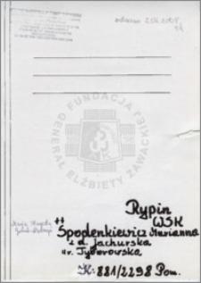 Spodenkiewicz Marianna
