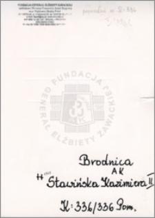 Stawińska Kazimiera II