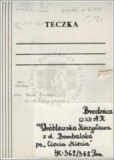 Wróblewska Mieczysława