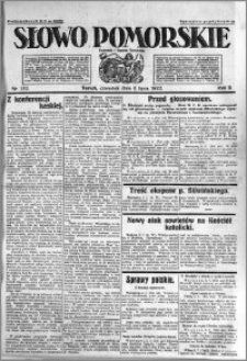 Słowo Pomorskie 1922.07.06 R.2 nr 152