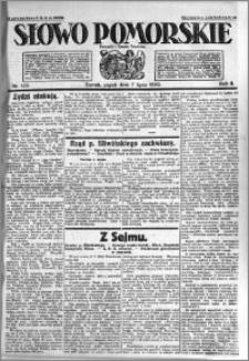 Słowo Pomorskie 1922.07.07 R.2 nr 153