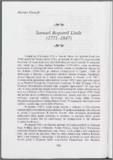 Samuel Bogumił Linde (1771-1847)