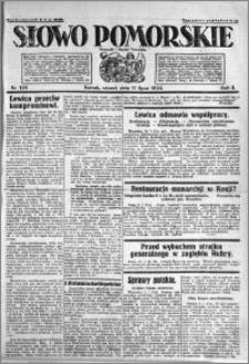 Słowo Pomorskie 1922.07.11 R.2 nr 156