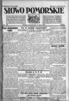 Słowo Pomorskie 1922.07.13 R.2 nr 158