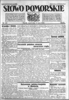 Słowo Pomorskie 1922.07.14 R.2 nr 159