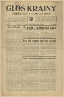 Głos Krajny 1934 Nr 1