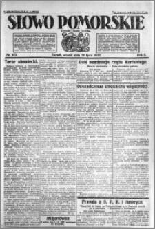 Słowo Pomorskie 1922.07.18 R.2 nr 162