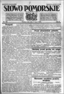 Słowo Pomorskie 1922.07.19 R.2 nr 163