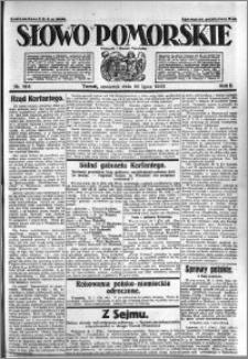 Słowo Pomorskie 1922.07.20 R.2 nr 164