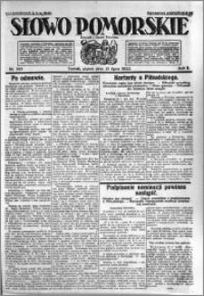 Słowo Pomorskie 1922.07.21 R.2 nr 165