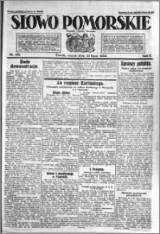 Słowo Pomorskie 1922.07.25 R.2 nr 168