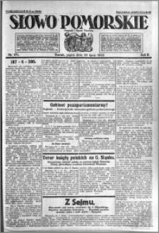 Słowo Pomorskie 1922.07.28 R.2 nr 171