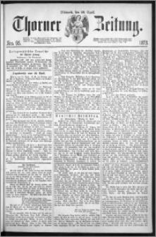 Thorner Zeitung 1873, Nro. 95