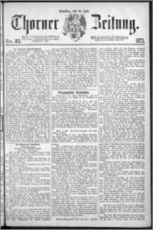 Thorner Zeitung 1873, Nro. 163 + Extra Beilage