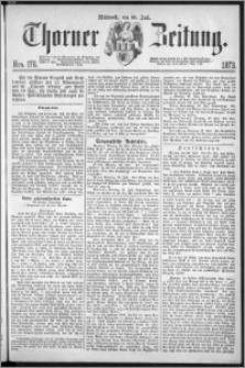 Thorner Zeitung 1873, Nro. 176