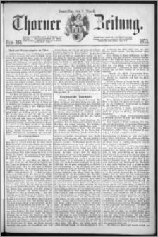 Thorner Zeitung 1873, Nro. 183