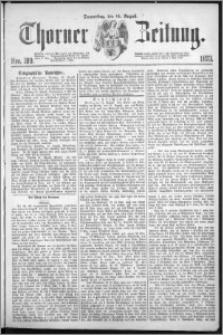 Thorner Zeitung 1873, Nro. 189