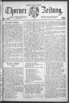 Thorner Zeitung 1873, Nro. 199