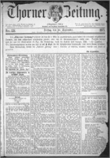 Thorner Zeitung 1873, Nro. 226