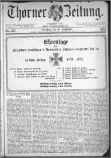 Thorner Zeitung 1873, Nro. 229