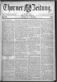 Thorner Zeitung 1873, Nro. 258