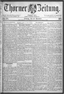 Thorner Zeitung 1873, Nro. 276