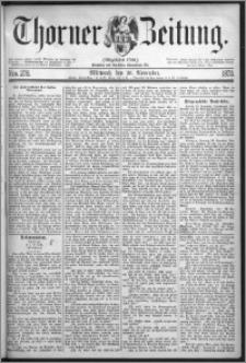 Thorner Zeitung 1873, Nro. 278