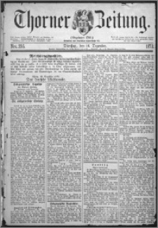 Thorner Zeitung 1873, Nro. 295