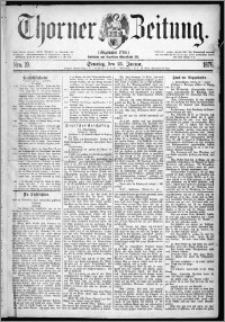 Thorner Zeitung 1876, Nro. 19