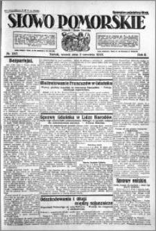 Słowo Pomorskie 1922.09.05 R.2 nr 203