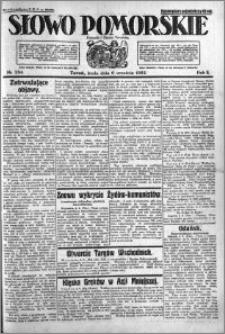 Słowo Pomorskie 1922.09.06 R.2 nr 204