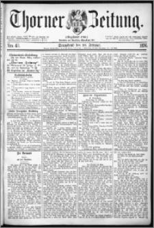 Thorner Zeitung 1876, Nro. 48