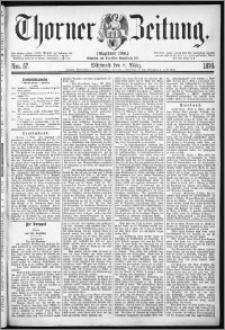 Thorner Zeitung 1876, Nro. 57