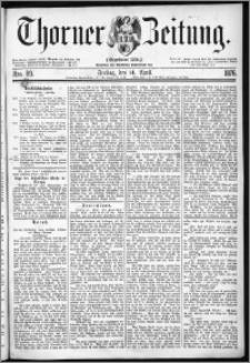 Thorner Zeitung 1876, Nro. 89