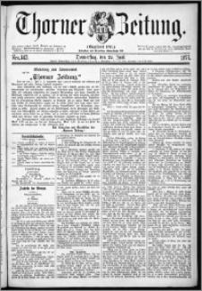 Thorner Zeitung 1876, Nro. 143