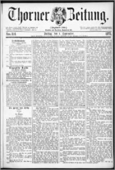 Thorner Zeitung 1876, Nro. 204