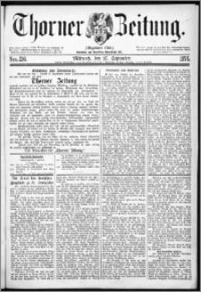 Thorner Zeitung 1876, Nro. 226