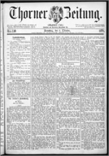 Thorner Zeitung 1876, Nro. 230 + Beilage