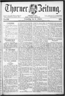 Thorner Zeitung 1876, Nro. 245