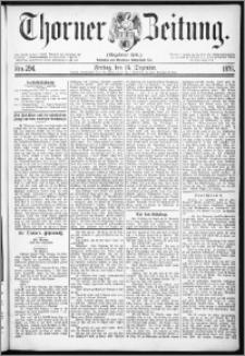 Thorner Zeitung 1876, Nro. 294
