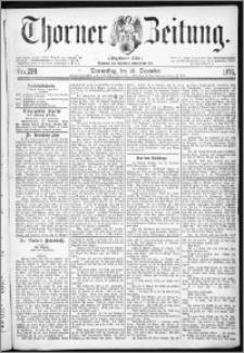Thorner Zeitung 1876, Nro. 299