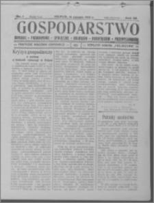 Gospodarstwo, R. 66 (1934), nr 1