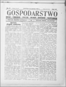Gospodarstwo, R. 66 (1934), nr 6
