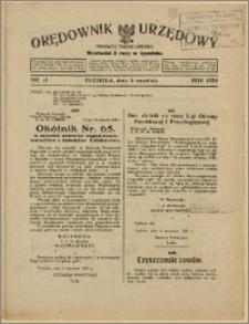 Orędownik Urzędowy Powiatu Tucholskiego 1928, Nr 71