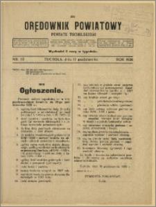 Orędownik Powiatowy Powiatu Tucholskiego 1928 Nr 82