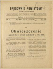 Orędownik Powiatowy Powiatu Tucholskiego 1928 Nr 84