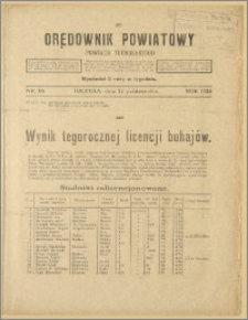 Orędownik Powiatowy Powiatu Tucholskiego 1928 Nr 86