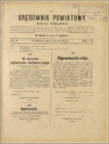 Orędownik Powiatowy Powiatu Tucholskiego 1928 Nr 87