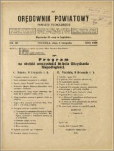 Orędownik Powiatowy Powiatu Tucholskiego 1928 Nr 88