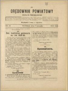 Orędownik Powiatowy Powiatu Tucholskiego 1928 Nr 89